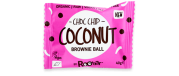 Roobar Brownie Ball Choc Chip and Coconut